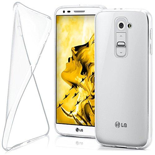 moex LG G2 Mini | Hülle Silikon Transparent Klar Clear Back-Cover TPU Schutzhülle Dünn Handyhülle für LG G2 Mini Case Ultra-Slim Silikonhülle Rückseite