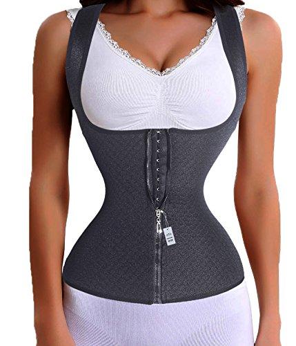 Maskottchen Design Kostüme (Taille Cincher Trainer Vest Trimmer Workout Sport Bauch Former-Körper-Gürtel mit (3XL Für Taille 33.0-35.4 inch,)
