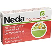 NEDA Früchtewürfel 15 St Würfel preisvergleich bei billige-tabletten.eu