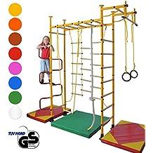 Bon NiroSport FitTop M3 Sprossenwand Für Kinder Indoor Klettergerüst Für  Kinderzimmer Kletterwand, TÜV Geprüft, Kinderleichte