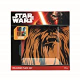 Under Toys Set de 4 Platos Icônes Star Wars de melamina