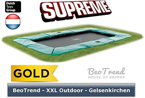 EXIT Trampolin SUPREME Ground Level 214x366cm