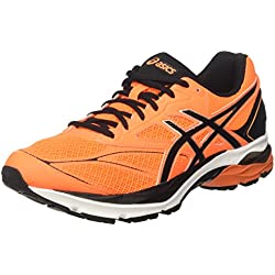 Asics Gel-Pulse 8, Zapatillas de Running Hombre, Naranja (Shocking Orange/Black/White), 40