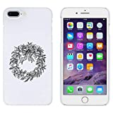 Weiß 'Weihnachtskranz' Hülle für iPhone 7 Plus (MC00102368)