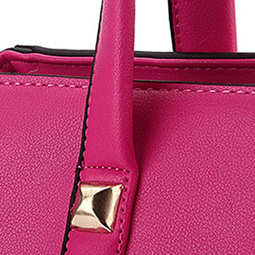 NiaNia - Sacchetto donna Rosso (rosa)
