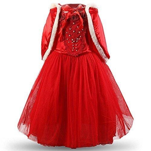 od Kleid Kleid Shrug Kostüm Karneval kleines Mädchen Bamba Weihnachtsfeier 855 (Baby-red Riding Hood Kostüm)