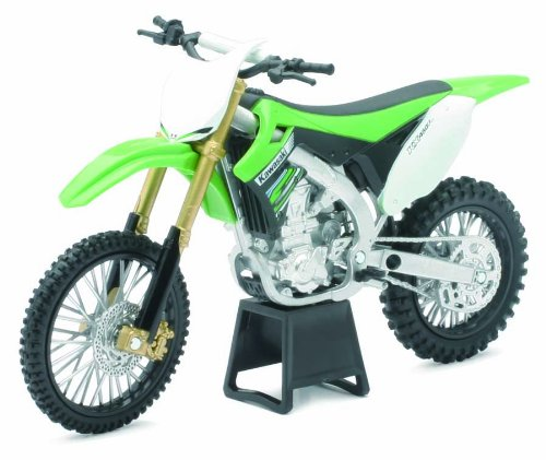 Newray 57483 - Dirt Bike Kawasaki Kx450F, Scala 1:12, Die Cast