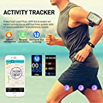 Dwfit Fitness Tracker Smart Watch Activity Tracker Sports Band Bracelet Waterproof Bluetooth Wristband With Heart Rate Monitor Pedometer Sleep Monitor Calorie Step Counter Blood Pressure