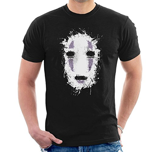 Spirited Away Ink No Face Men's T-Shirt (Kunst-animation-programme)