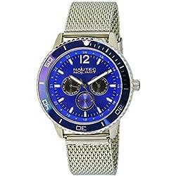Nautec No Limit men's Quartz Watch Analogue Display and Stainless Steel Strap GLAC-QZ-STM2-ST-BL