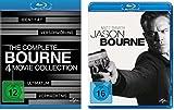 Bourne 1-5 (Bourne Collection Box 1-4 + Jason Bourne) im Set - Deutsche Originalware [5 Blu-rays]