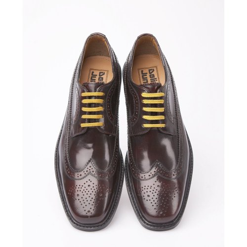Delicious Junction Skin Mod Brogue Leather Shoe Oxblood UK 6 – 11