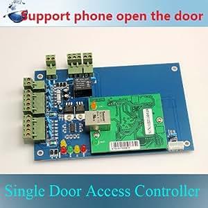 Contrôleur d'accès porte simple 20000 utilisateurs 100000 cas tampons une porte Double sens de contrôle
