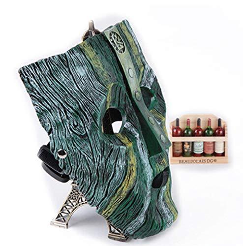HYXMJ Halloween-Harzmaske Verkleidet Geek-Horror-Schädelmaske für kreative Film- und Fernsehcharaktere ()