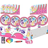 My Little Pony Birthday Decorations Kids Party Tableware 16 32 Guest Pack Plates Cups Napkins
