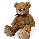 Grande orsacchiotto XXL bambini gigante orsacchiotti bambino grande morbido peluche giocattoli bambole Orsetto Orso + altri colori e misure, Brown, 56 cm immagine
