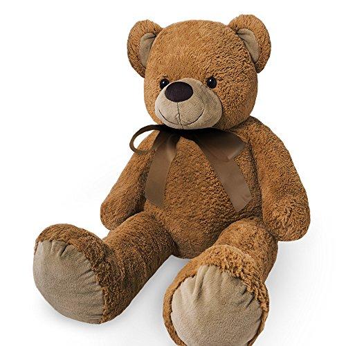 Grande orsacchiotto XXL bambini gigante orsacchiotti bambino grande morbido peluche giocattoli bambole Orsetto Orso + altri colori e misure, Brown, 56 cm