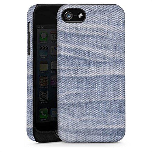 Apple iPhone 6 Housse Étui Silicone Coque Protection Jeans Style tissu Fashion Cas Tough brillant