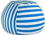 WEKAPO - Puf de Almacenamiento con diseño de Animales, 96,5 cm, Extra Grande, 122 cm, Cremallera YKK de Calidad, Lona de algodón de Primera Calidad