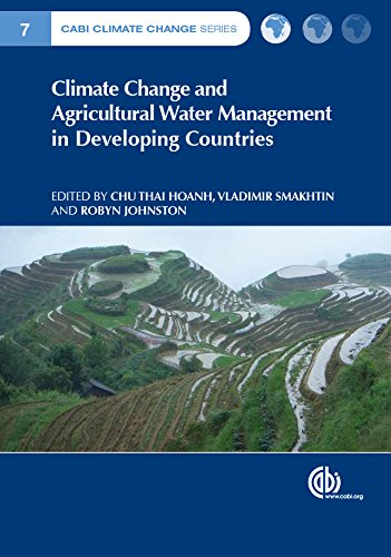 Climate Change and Agricultural Water Management in Developing Countries (CABI Climate Change Series)