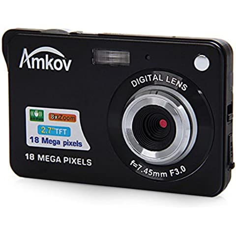 AMKOV CDC3 18.0 Mega Piexls 720P HD Mini Compart Digital