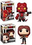 Funko POP! Hellboy: Hellboy + Liz Sherman – Stylized Comic Book Vinyl Figure Set NEW