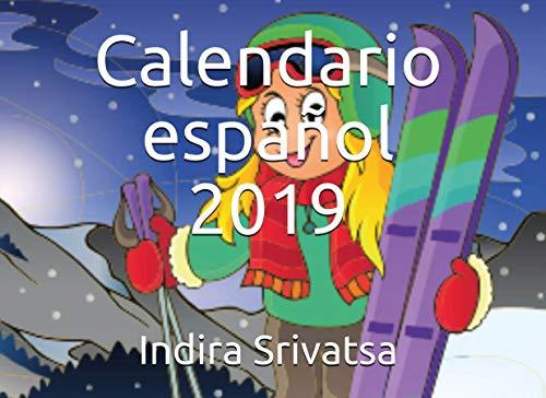 Calendario español 2019