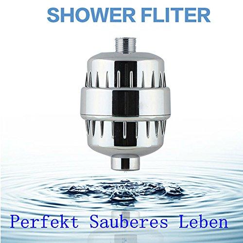 Duschfilter 5-Stufen Shower Filter Austauschbare Filterpatrone Dusche Filter Filter Verunreinigungen Dusche Filtern Ein wirksamer Schutz der Haut