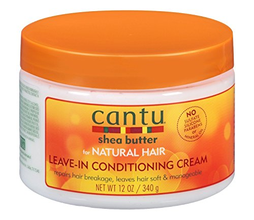 Cantu Shea Natural Leave In Conditioning Cream, 1er Pack (1 x 340 g) -