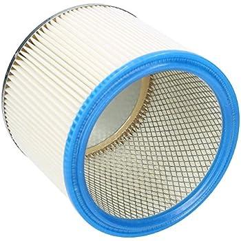 Pour usage humide et sec Wessper Cartouche filtrante pour Thomas Compact 20 S