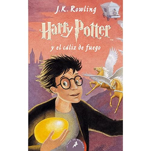 Harry Potter y el Cáliz de Fuego: Harry Potter y el caliz de fuego - Paperback 12