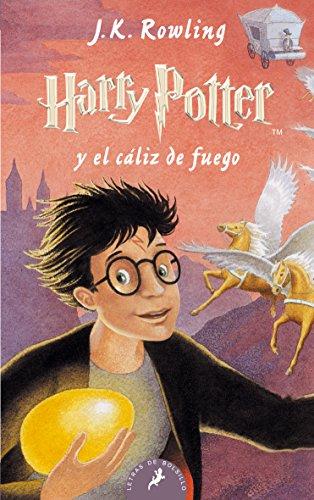 Harry Potter Cáliz Fuego: 103 Letras Bolsillo