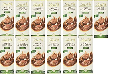 Lindt & Sprüngli Dessert Mousse Nuss, 13er Pack (13 x 140 g)