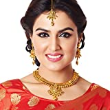 Apara contemporary South Indian Gold pla...