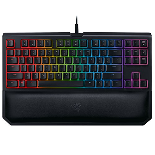 Razer BlackWidow Chroma V2 - Teclado de gaming (edición Tournament, teclas retroiluminadas programables, QWERTY español) negro