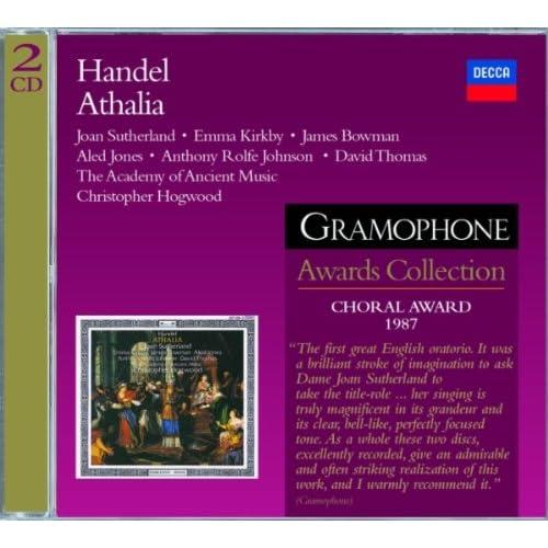 """Handel: Athalia, HWV 52 / Act 1 - """"Blooming virgins, spotless train"""""""