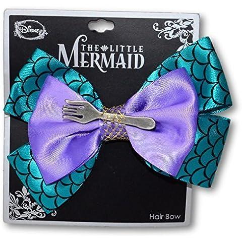 Disney The Little Mermaid Purple & Green Scale Cosplay Hair