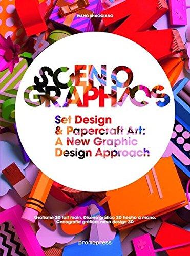 Scenographics: Set Design & Papercraft Art: A New Graphic Design Approach  Grafisme 3D fait main Diseño gráfico 3D hecho a mano Cenografia gráfica: novo design 3D