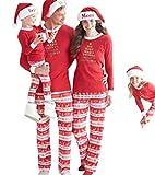 YaoDgFa Ugly Weihnachten Pyjama Schlafanzug Familie Weihnachts Xmas Weihnachtspyjama Nachtwäsche Hausanzug Sleepwear Sweater Set Damen Herren Kinder Mädchen Jungen