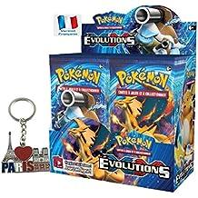 Série Carte Pokemon EVOLUTIONS XY12 en français - Offres aux choix avec 1 cadeau bonus