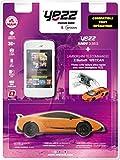 Yezz UPBOX35E2WLAM Smartphone débloqué 3G+ (Ecran: 3,5 pouces - 4 Go - Double Micro-SIM - Android) Blanc