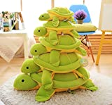 #10: Day Stuffed Soft Cute Green Turtle Tortoise Animal Plush Toy Birthday Gift Boy Girl (Length 30cm)