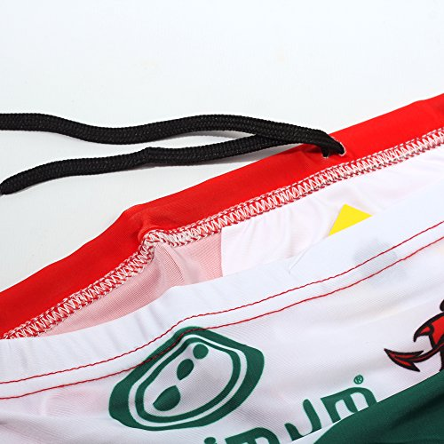 Optimale Men'Tackle Trunk s Unterhose Sportswear RL Weiß - Wales