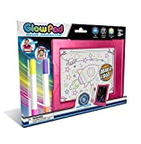 Mindscope Light Up LED GLOW PAD PINK Animator with Glow Markers by Mindscope