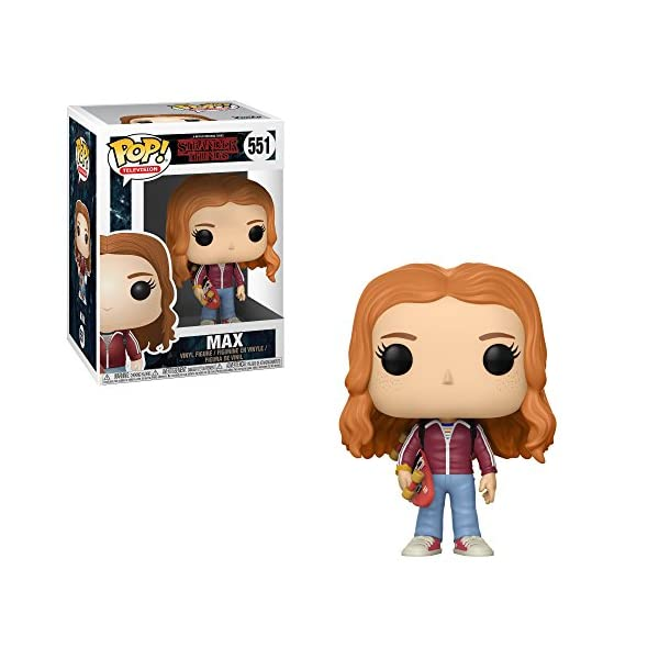 Funko Pop Max con tabla de skate (Stranger Things 551) Funko Pop Stranger Things