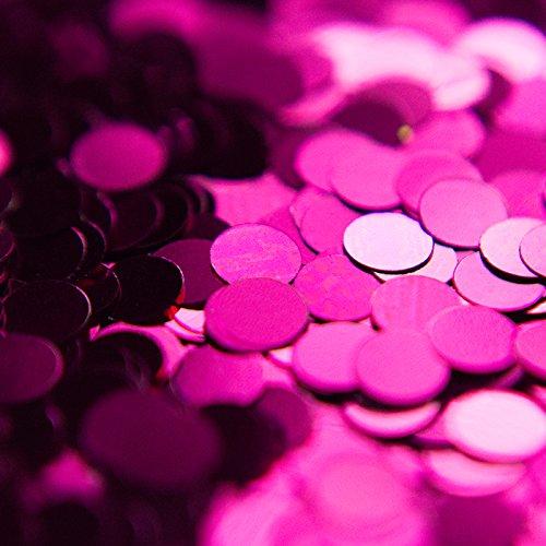 Grande 100g Sfxc® viola Chunky cerchio glitter per arti e mestieri