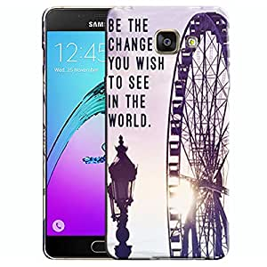 Theskinmantra Be the change Wish Samsung Galaxy A5 (2016 Edition) mobile panel