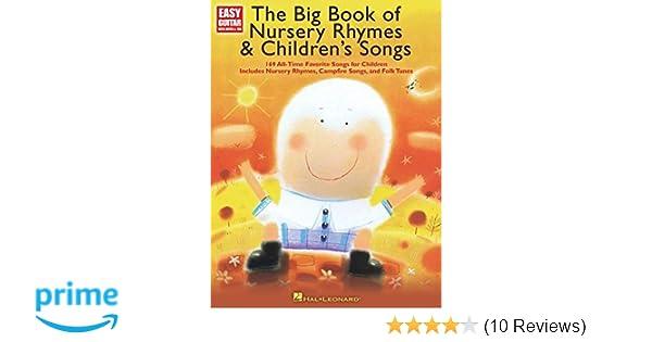 The Big Book Of Nursery Rhymes Childrens Songs Easy Guitar