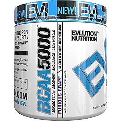 Evlution Nutrition BCAA 5000 30 Serving by EVLUTION NUTRITION