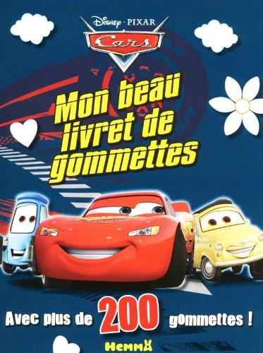 Cars - Mon livret de gommettes